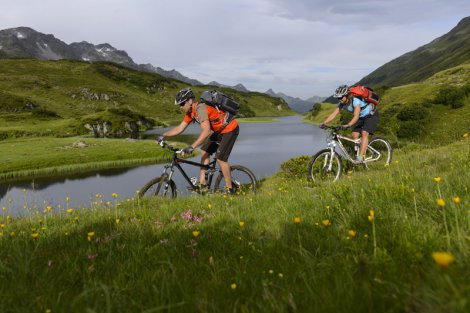 Mountainbiken in St. Anton am Arlberg